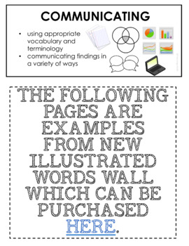 ONTARIO SCIENCE: FUNDAMENTAL CONCEPTS ILLUSTRATED WORD WALL FREEBIE