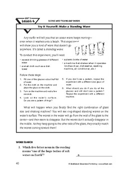 Science and Technology Words-Try It Yourself: Make a Standing Wave