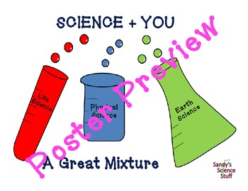 """Science and You (16""""x20"""") Printable Poster"""