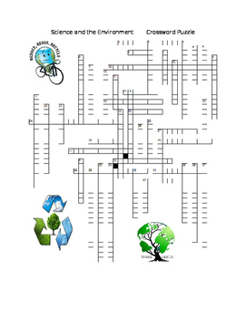 Science and the Environment Crossword