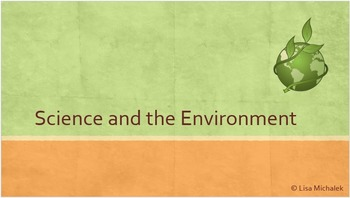 Science and the Environment PowerPoint Presentation Lesson Plan