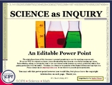 Science as Inquiry: Step-by-Step Through the Investigative Process - EDITABLE