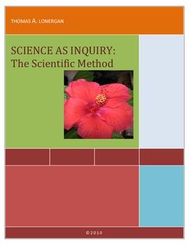 Science as Inquiry:  The Scientific Method