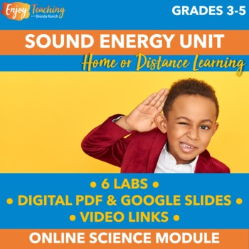 Distance Learning Science Activities – Sound Energy Experiments, STEM & Videos