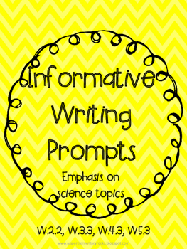 Science-based Informative Writing Prompts