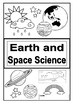 Science book cover labels