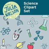 Science clipart set