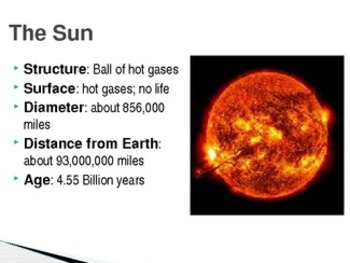 Science earth sun and moon powerpoint