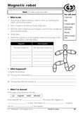 Science experiments including printable and teacher notes