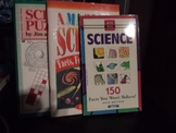 Science (facts, feats, & puzzles)   set of 3
