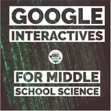 Science Google Interactive for Middle School Bundle