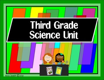 """Science for Third Grade"" Pack (Ohio Revised Standards)"