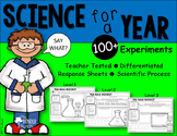Science Experiments for a Year {Differentiated for ALL Learners}