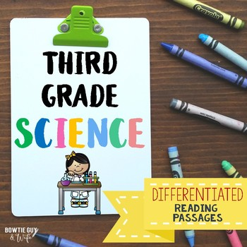 Science Bundle of Informational & Nonfiction Texts and Comprehension Assessments