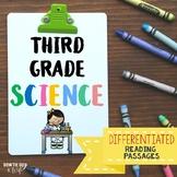 Science Differentiated Reading Passages Nonfiction Texts bundle
