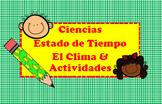 SPANISH Lesson-Ciencias Estado del tiempo y el clima-Weather/Climate