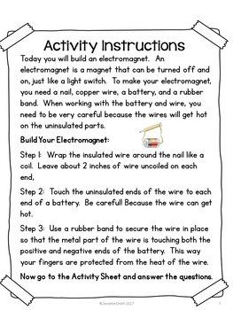 Science in a Bag:  Build an Electromagnet