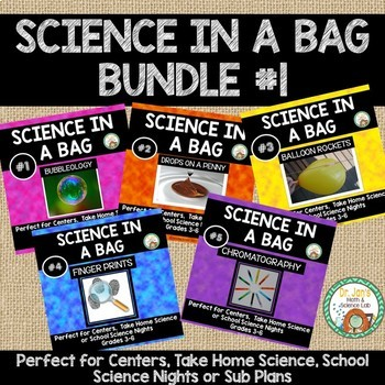 Science in a Bag: Bundle 1