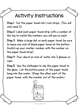 Science in a Bag:  Chromatography