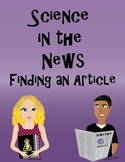 Science in the News: Article Find (Current Events)