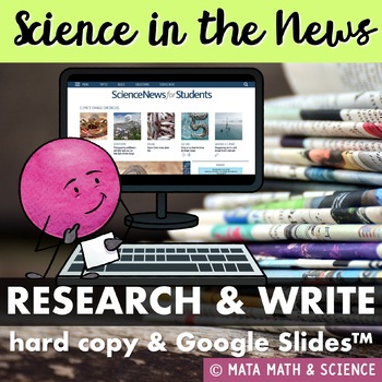 Science in the News: Research and Write