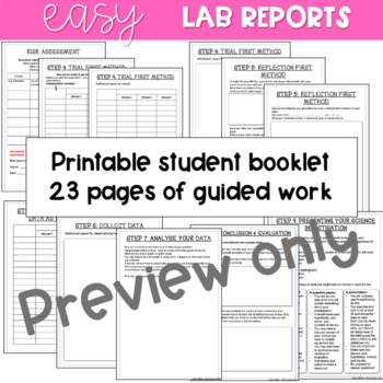 Science investigation: Student Logbook