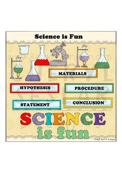 Science is Fun Clipart Collection