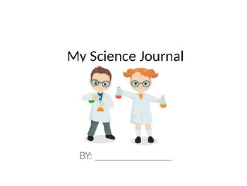 Science journal for experiments