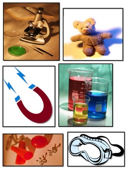 Science kindergarten common core toys vs tools sort ESL hands on center