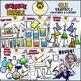 Beaker - Science Laboratory Apparatus Clipart