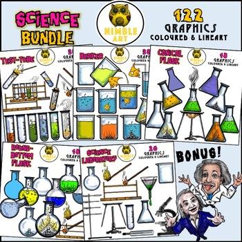 Science Laboratory Apparatus Clipart