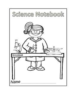 Science notebook covers **Freebie**