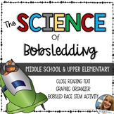 Science of Bobsledding - Middle School Physics STEM - Friction, Gravity, Inertia