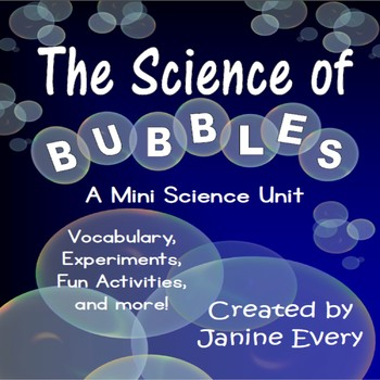 Bubbles:  Science Fun