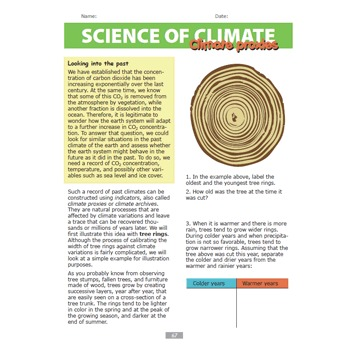 Science of Climate - Global Warming and Climate Change - Student Workbook