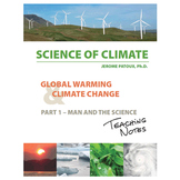 Science of Climate - Global Warming and Climate Change - Teaching Notes - Vol 1