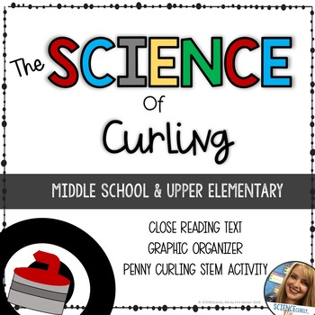 Science of Curling - Middle School Physics STEM - Friction, Energy Transfer
