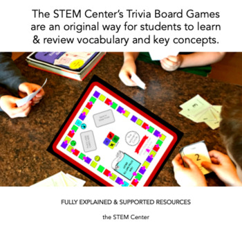Matter Trivia Board Game: States of Matter, Properties, and Changes