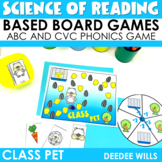 Science of Reading Board Games   Class Pet