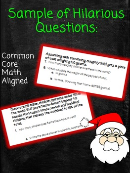 Science of Santa Claus Worksheet
