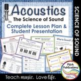 Science of Sound Unit: Music & Science Lesson, Presentatio