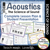 Science of Sound Unit: Music & Science Lesson, Presentatio