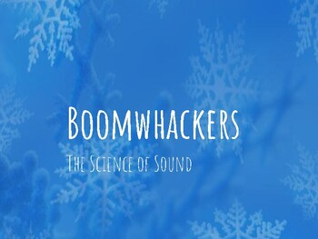 Science of Sound: Boomwhacker supplement