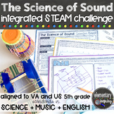 Science of Sound: Musical Instrument STEAM Design Challenge (pitch and volume)