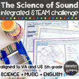 Sound STEM Challenge Musical Instrument Engineering Design STEAM Activity Unit