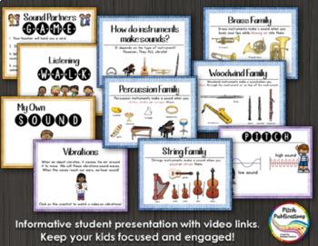 Science of Sound Unit 1st: Lesson Plans, Presentation, Experiments, & Assessment