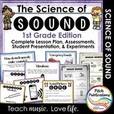 Science of Sound Unit 1st Grade: Plans, Presentation, Expe