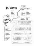 Science of Waves Wordsearch or Word Search