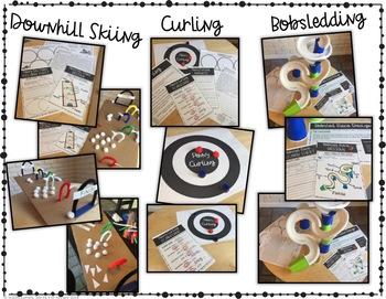 Science of Winter Sports - Middle School Physics STEM - Sledding - Curling- Ski