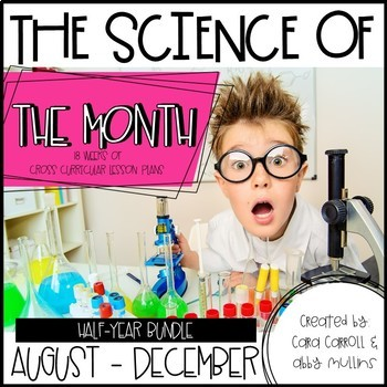 Science of the Month (Aug.- Dec. BUNDLE)